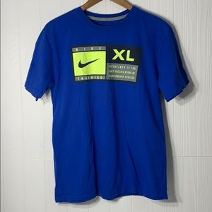 Nike Mens Regular Fit Short Sleeve T-Shirt Sz M